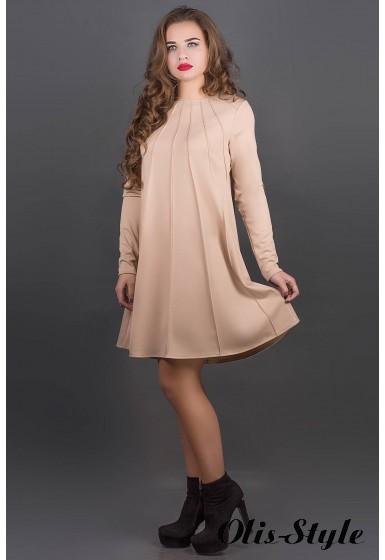 Платье Ситти (бежевый) Оптовая цена