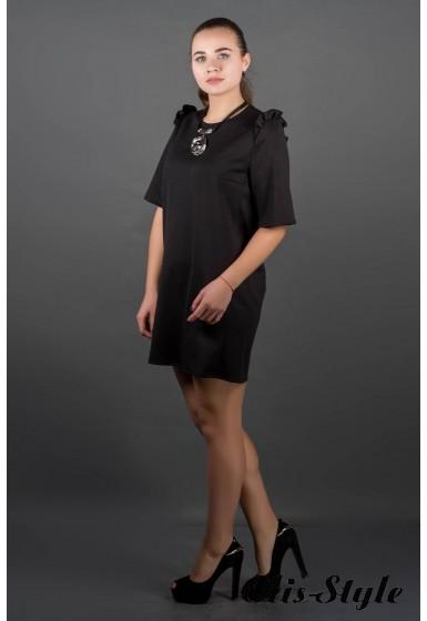 Платье Блуми (черный) Оптовая цена