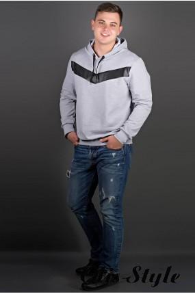 Мужская толстовка Ирланда (серый) оптовая цена