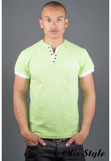 Мужская футболка Жорж (салатовый) оптовая цена