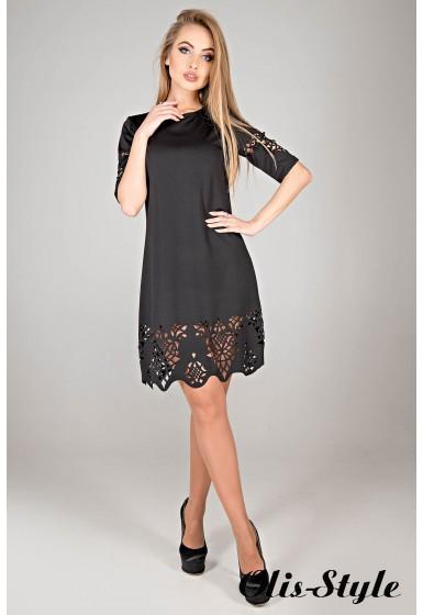 Платье Фисента (черный) Оптовая цена