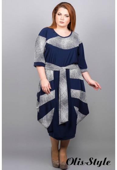 Платье Лия (квадратики)  Оптовая Цена