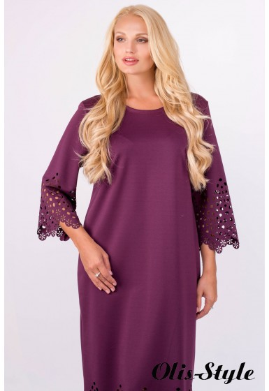 Платье Кайла (бордовый) Оптовая цена