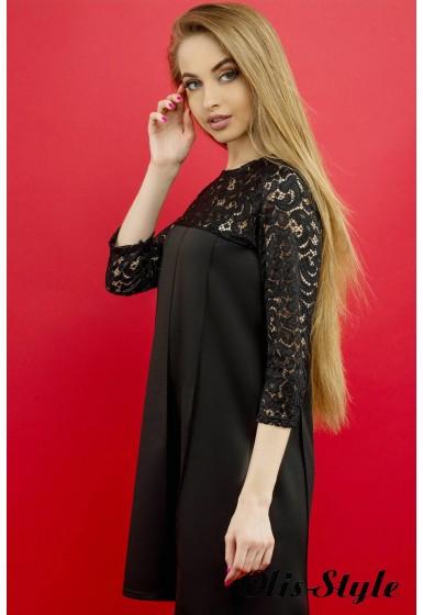 Платье Эмма (черный) Оптовая цена