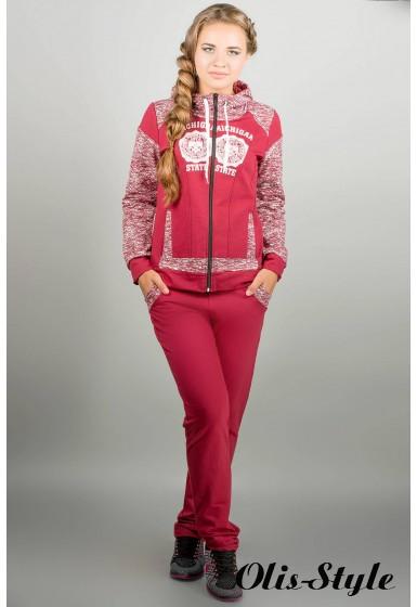 спортивный костюм Альда (бордовый) Оптовая Цена