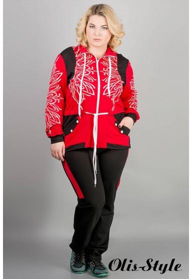 Спортивный костюм Марго (красный) оптовая цена