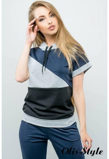 Спортивный костюм Илайя (синий) Оптовая цена