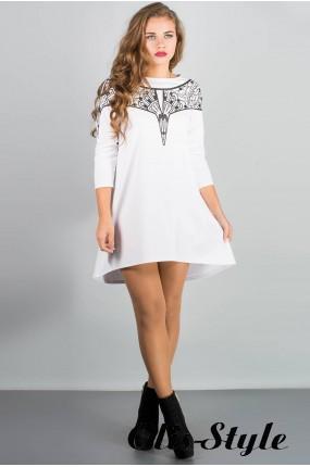 Платье Мэри-эль (белый) Оптовая цена