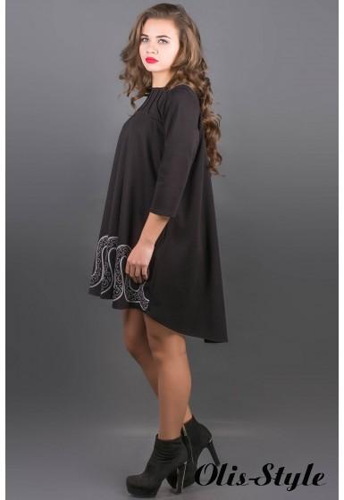 Платье Гретти (черный) Оптовая цена