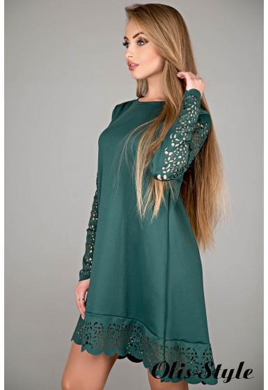 Платье Эрин (зеленый) Оптовая цена