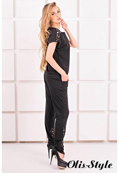 Спортивный костюм Канель (черный) Оптовая цена