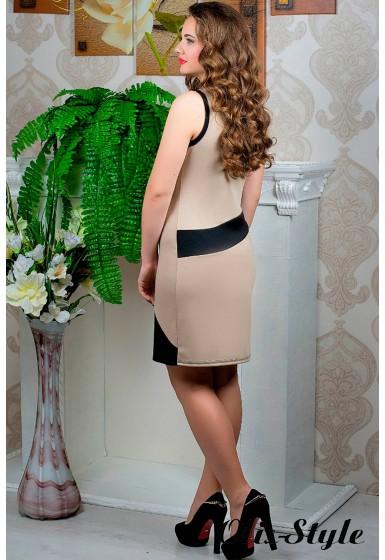 Платье Мидея (бежевый) оптовая цена