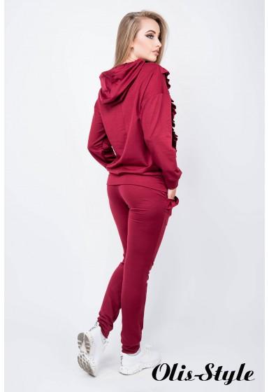 Спортивный костюм Донона (бордовый) Оптовая цена