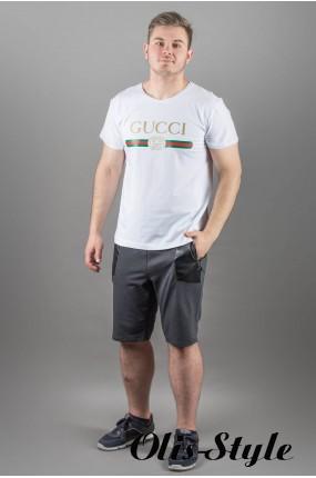 Мужская футболка Гуччи (белый) оптовая цена