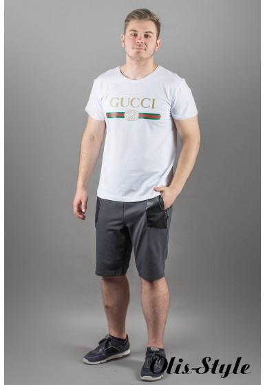 Мужская футболка Гуччи (белый)