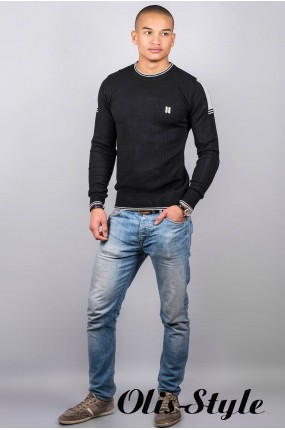 Мужской свитер 100 (черный )   оптовая цена