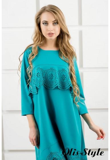 Платье Наир (бирюза) Оптовая цена