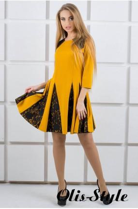 Платье Хэлли (горчичный) Оптовая цена