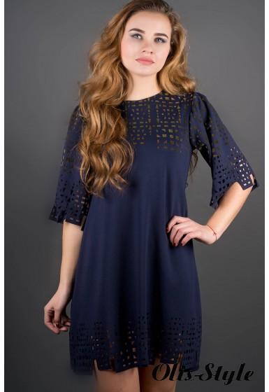 Платье Айви (синий) Оптовая Цена