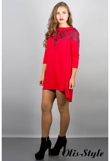 Платье Мэри-эль (красный) Оптовая цена