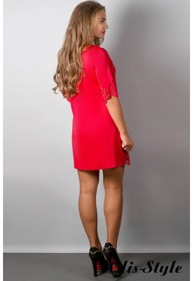 Платье Шедевр (красный) Оптовая цена
