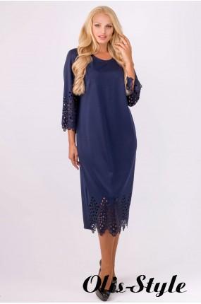 Платье Кайла (синий) Оптовая цена