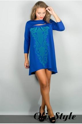 Платье Соланж (электрик) Оптовая цена