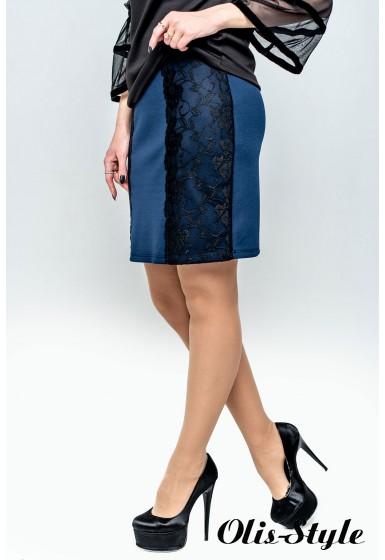 Юбка Лолита (синий) оптовая цена