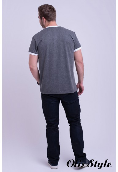 Мужская футболка Рональдо (темно серый) оптовая цена