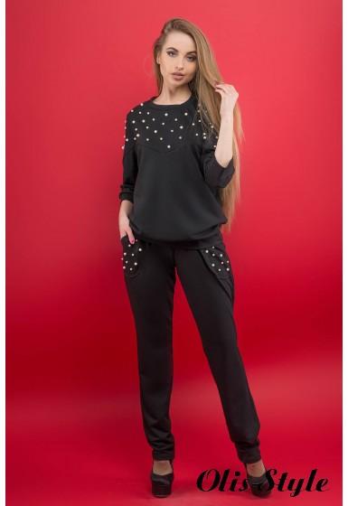 Спортивный костюм Тереза (черный) Оптовая цена
