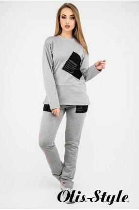 Спортивный костюм Синди (серый) Оптовая цена