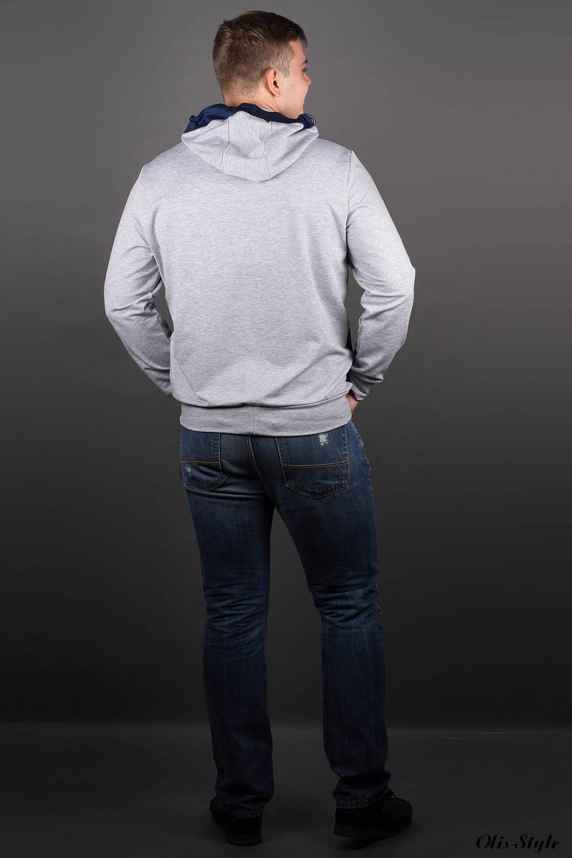 Мужская толстовка Эдмон (серый) оптовая цена