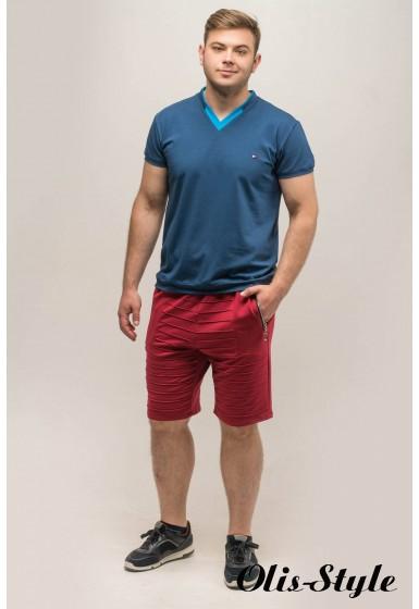 Мужские шорты Энджи (бордовый) Оптовая Цена