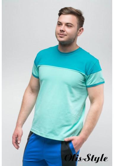 Мужская футболка Фердинант (мята) оптовая цена