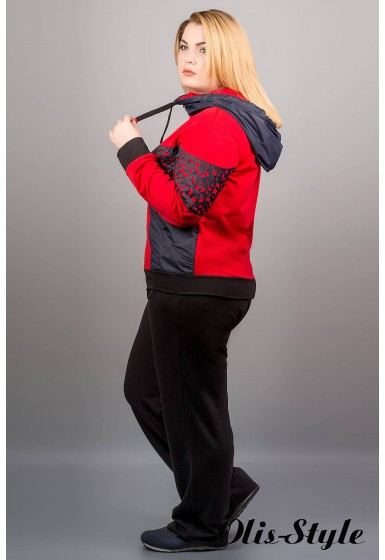 Спортивный костюм Даниэлла (красный)   оптовая цена