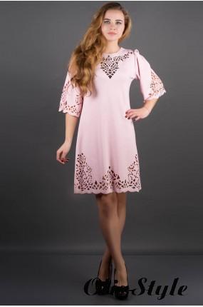 шелковое платье с купоном