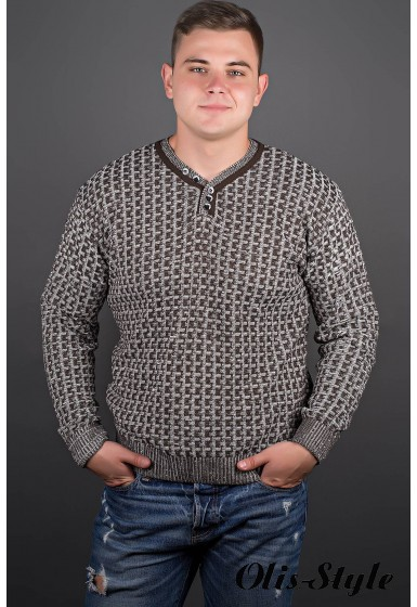 Мужской свитер Влад (бежевый) оптовая цена