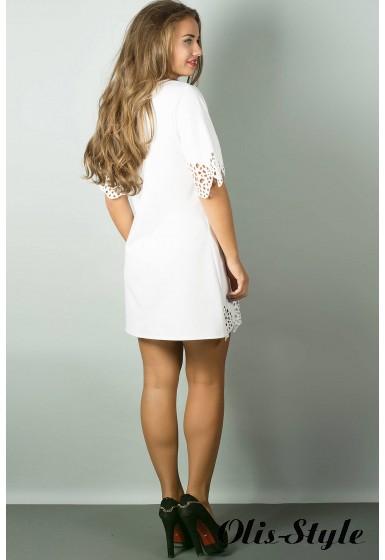 Платье Шедевр (белый) Оптовая цена
