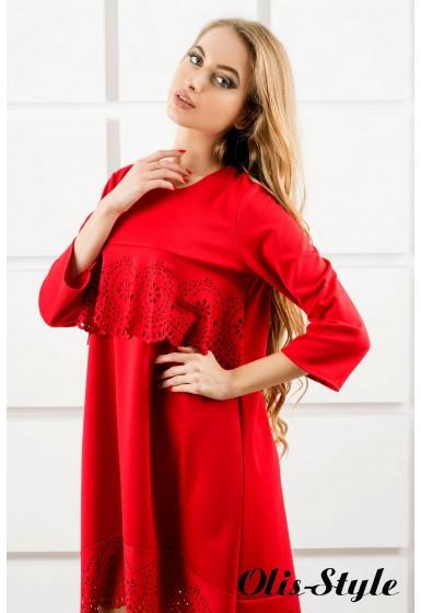 Платье Наир (красный) Оптовая цена