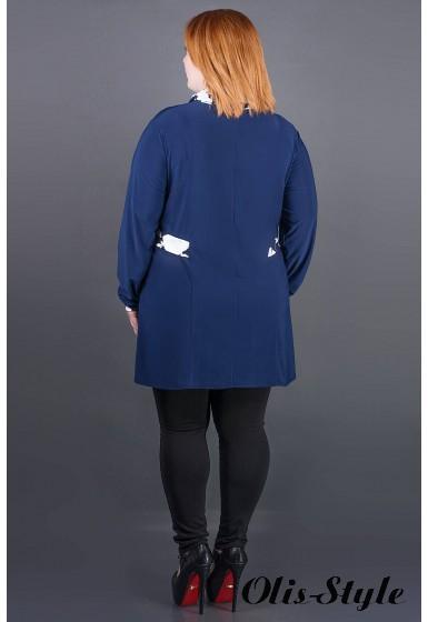 Туника Жаннет (синий) оптовая цена