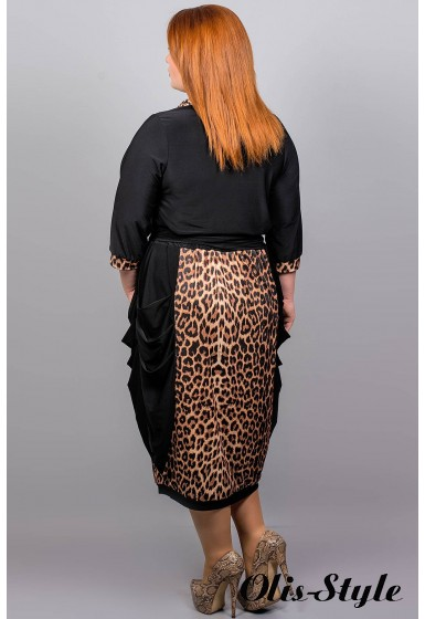 Платье Ирен  (леопард)  Оптовая Цена