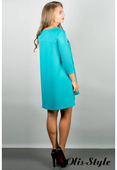 Платье Соланж (бирюза) Оптовая цена