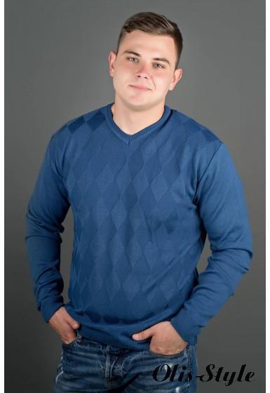 Мужской свитер Архимед (голубой) оптовая цена