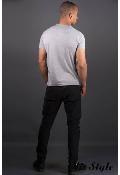 Мужская футболка Йонес (серый) оптовая цена