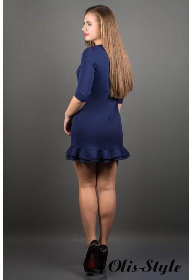 Платье Кураж (синий) ОПТОВАЯ ЦЕНА