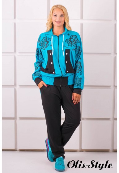 Спортивный костюм Нейли (бирюза)   оптовая цена