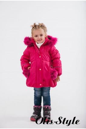 Зимняя детская куртка Бемби (малина) ОПТОВАЯ ЦЕНА