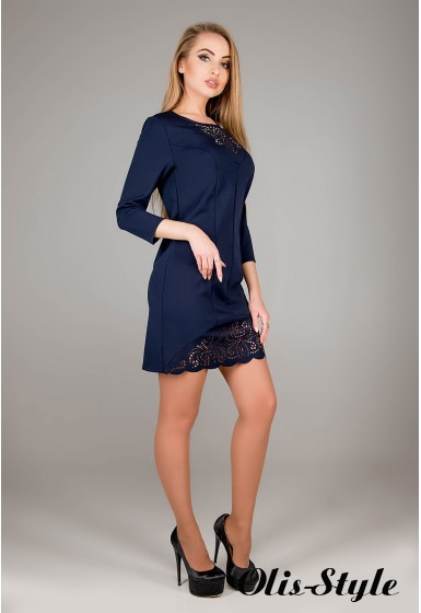 Платье Форина (синий) Оптовая цена