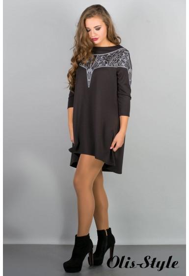 Платье Мэри-эль (черный) Оптовая цена