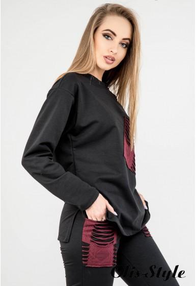 Спортивный костюм Синди (черный) Оптовая цена